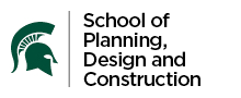 MSU School of Planning, Design and Construction Logo