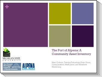 Slides from The Port of Alpena: A Community Asset Inventory