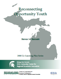 Reconnecting Opportunity Youth Report Cover