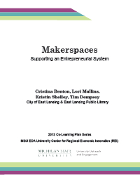 Makerspaces Report Cover