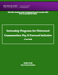 Pay It Forward Report Cover