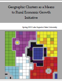 Geographic Clusters as a Means to Rural Economic Growth Initiative (2013) Report