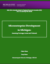 Microenterprise Development in Michigan: Assessing Coverage, Access and Outreach (2012) Report