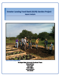 Greater Lansing Food Bank Report Cover