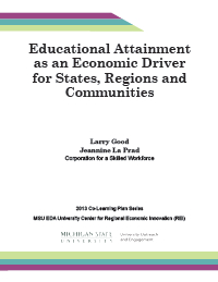 Educational Attainment Report Cover