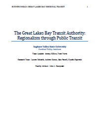 Great Lakes Bay Regional Transit Study (2014) Report