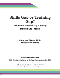 Skills Gap or Training Gap Report Cover