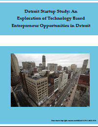 Detroit Startup Study Report Cover