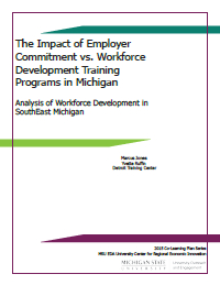 Workforce Development Training Report Cover