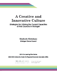 Creative and Innovative Culture Report Cover