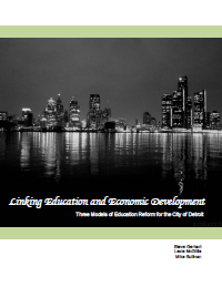 Linking Education and Economic Development Report Cover