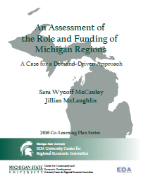 Cover of An Assessment of the Role and Funding of Michigan Regions