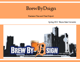 BrewByDsign Report Cover
