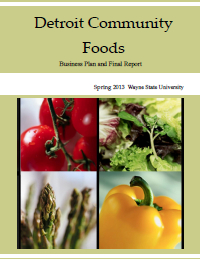 Detroit Community Foods Report Cover