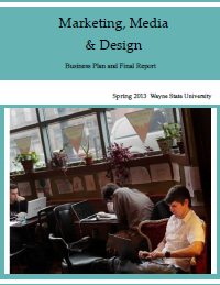 Marketing, Media & Design Report Cover