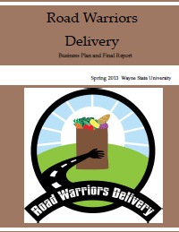 Road Warriors Delivery Report Cover