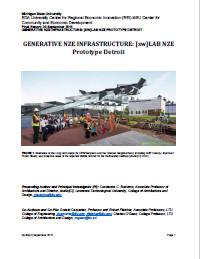 Generative NZE Report Cover