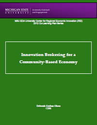 Innovation Brokering Report Cover