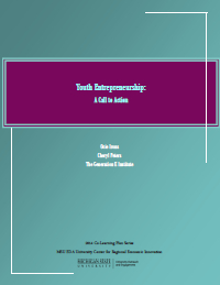 Youth Entrepreneurship Report Cover