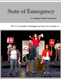 State of Emergency Report Cover