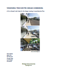 South Cedar Street in Lansing Report Cover