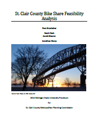 St. Clair County Bike Share Feasibility Analysis (2013) Report