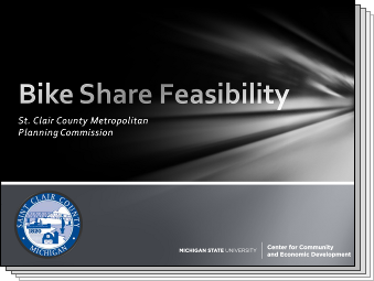 Slides from Bike Share Feasibility