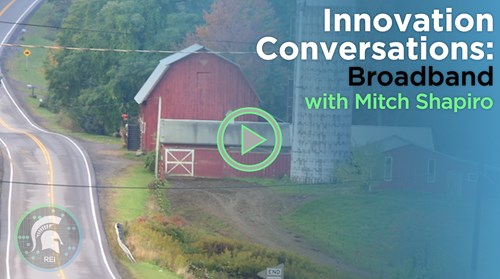 Innovation Conversations: Broadband with Mitch Shapiro