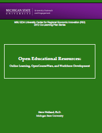 Open Educational Resources Report Cover