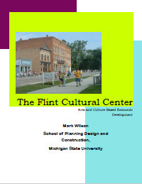 Flint Cultural Center Report Cover